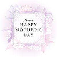 Mothers day floral design
