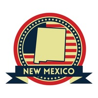 New mexico map label