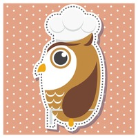 Owl as a chef