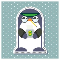 Penguin as a banker