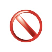 Popular : Prohibition sign