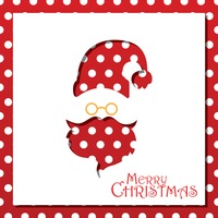 Popular : Santa claus christmas card design
