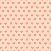 Seamless love hearts background