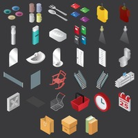 Popular : Set of assorted icons