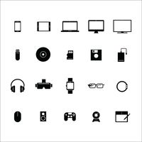 Popular : Set of device icons