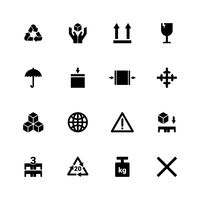Popular : Set of packaging symbol icons
