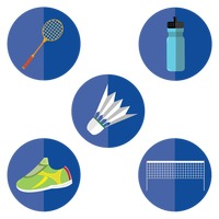 Popular : Set of sports icon