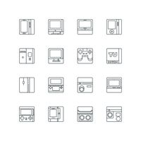 Popular : Set of technology icons