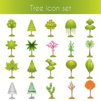Popular : Set of tree icons