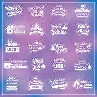 Popular : Set of wishes