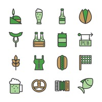 St patrick s day icons