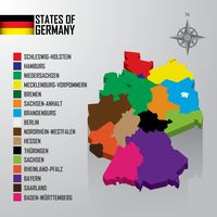 Popular : States of germany map