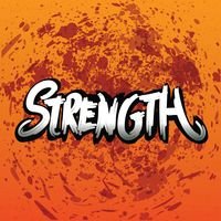 Strength typography design