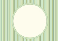 Striped background with frame