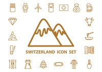 Popular : Switzerland icons