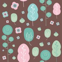 Tree background design