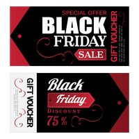 Two black friday gift voucher