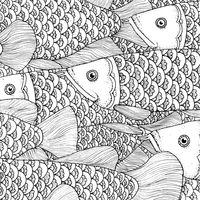 Unique fish pattern design