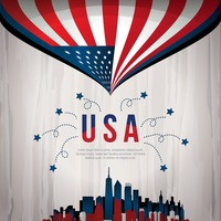 United states background design