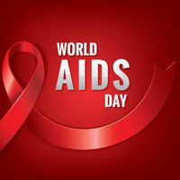 World aids day poster design