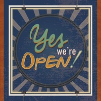 Yes we re open wallpaper