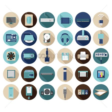 Mouse pad : A collection of computer items
