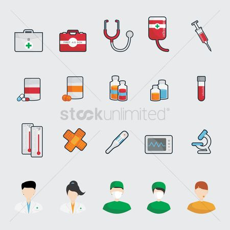 Surgeons : A collection of medical items