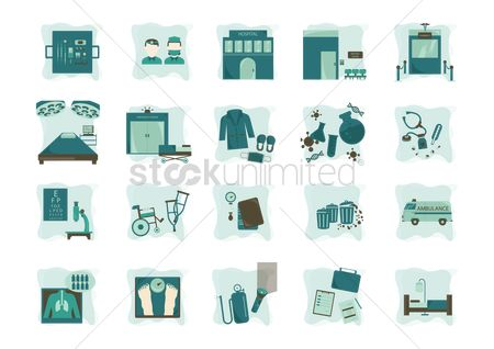 Hospital : A collection of medical items