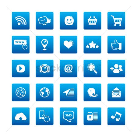 Wifi : A collection of social media icons