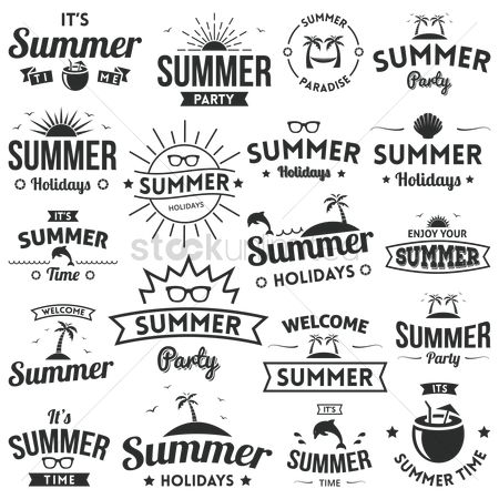 Summer : A collection of summer labels