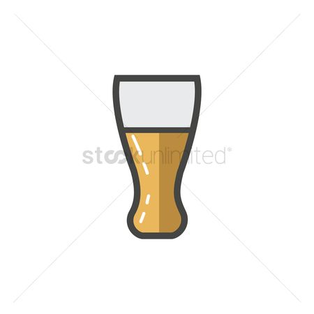 Servings : A glass of beer