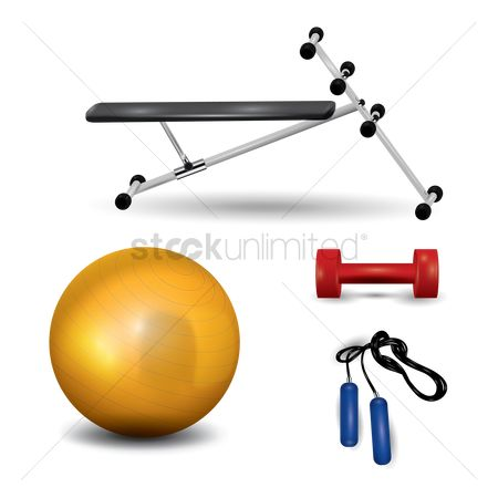 Dumb bell : A set of exercise equipments