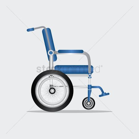 Hospital : A wheelchair