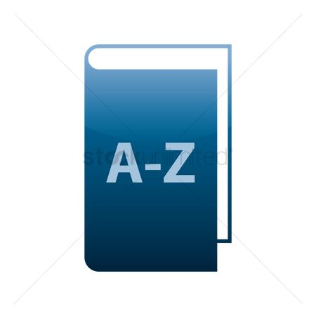 Hardcovers : A-z book icon