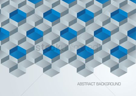 Geometric background : Abstract 3d background
