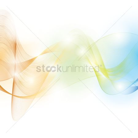 Flow : Abstract background