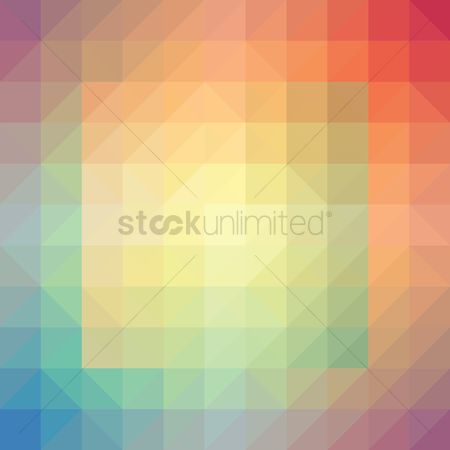 Gradient : Abstract block background