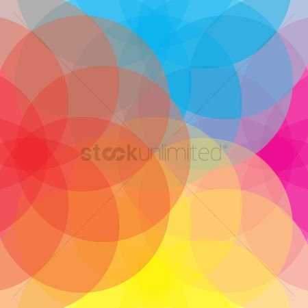 Geometric background : Abstract circular background