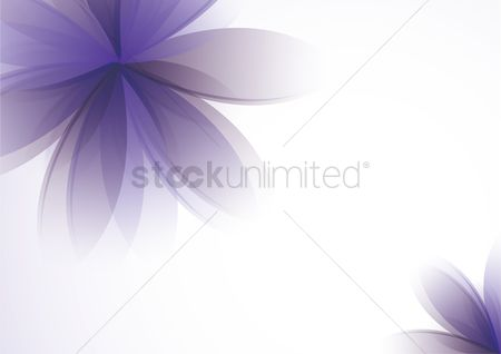 Flower : Abstract floral background
