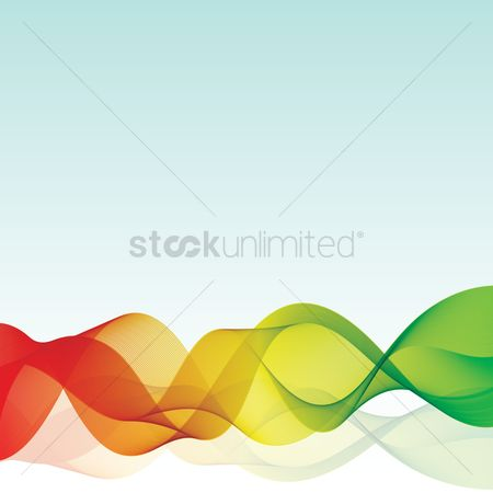 Flow : Abstract flowing background