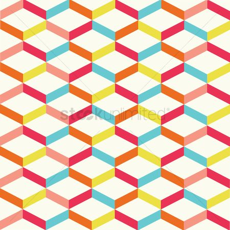 Zig zag : Abstract geometrical background