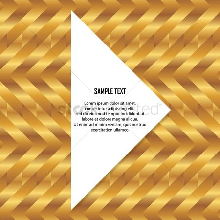 Zig zag : Abstract golden background