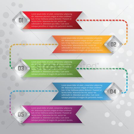Infographic : Abstract infographic background