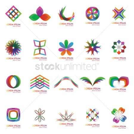 Graphic : Abstract logo element