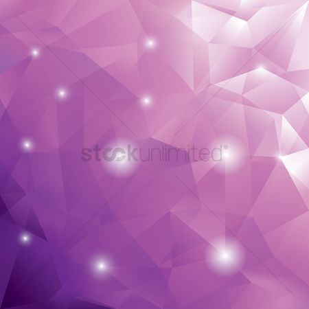 Sparkle : Abstract polygonal background