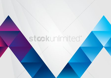 Technology background : Abstract triangular background