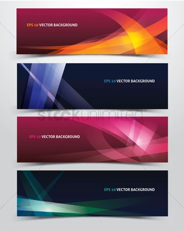Copyspace : Abstract vector backgrounds