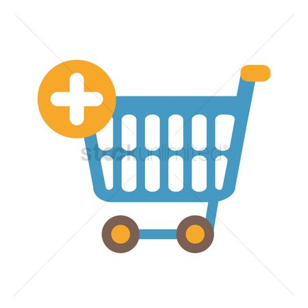 E commerces : Add to cart icon