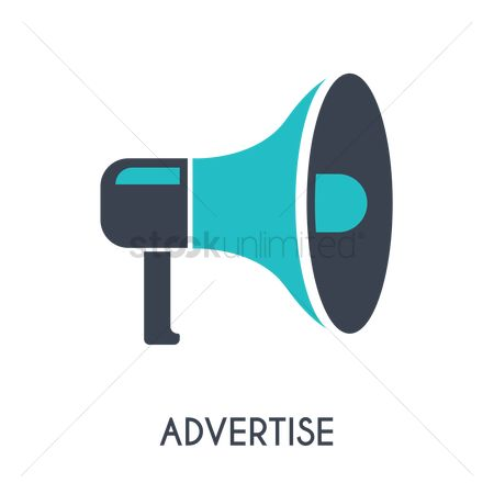 Broadcasting : Advertise concept