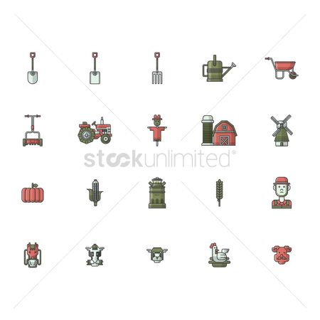 Spade : Agricultural icons